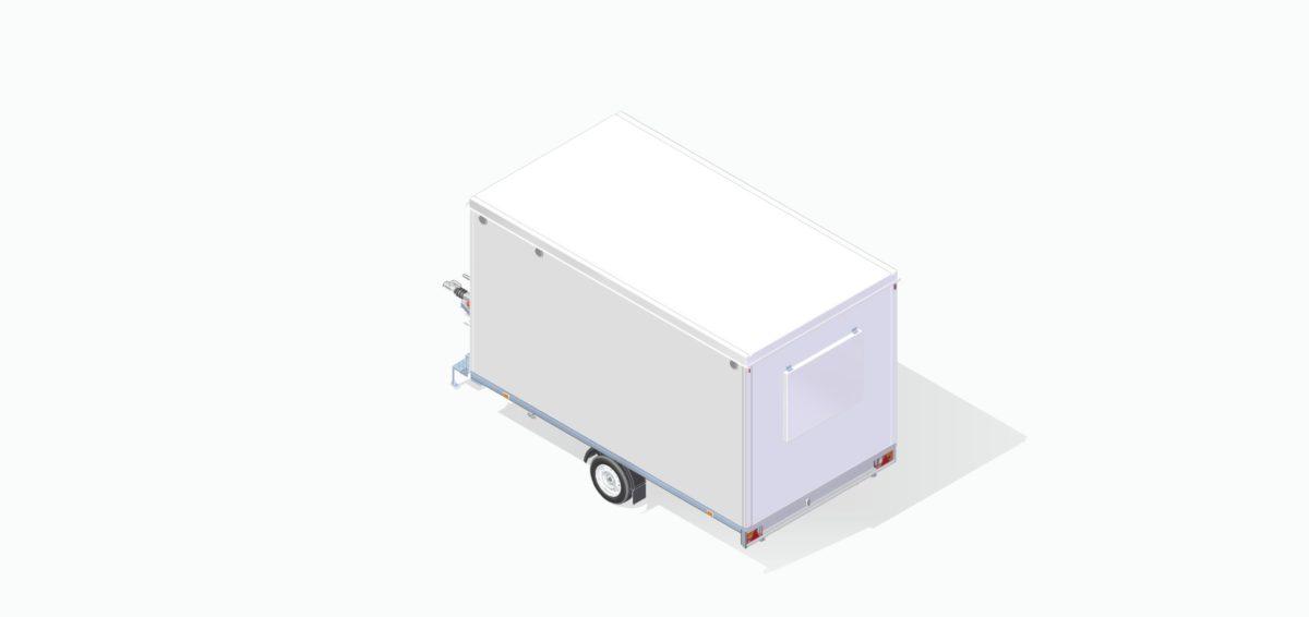Mannskapsvogn <br>RESPO 420 3-dørs 6 personer 10