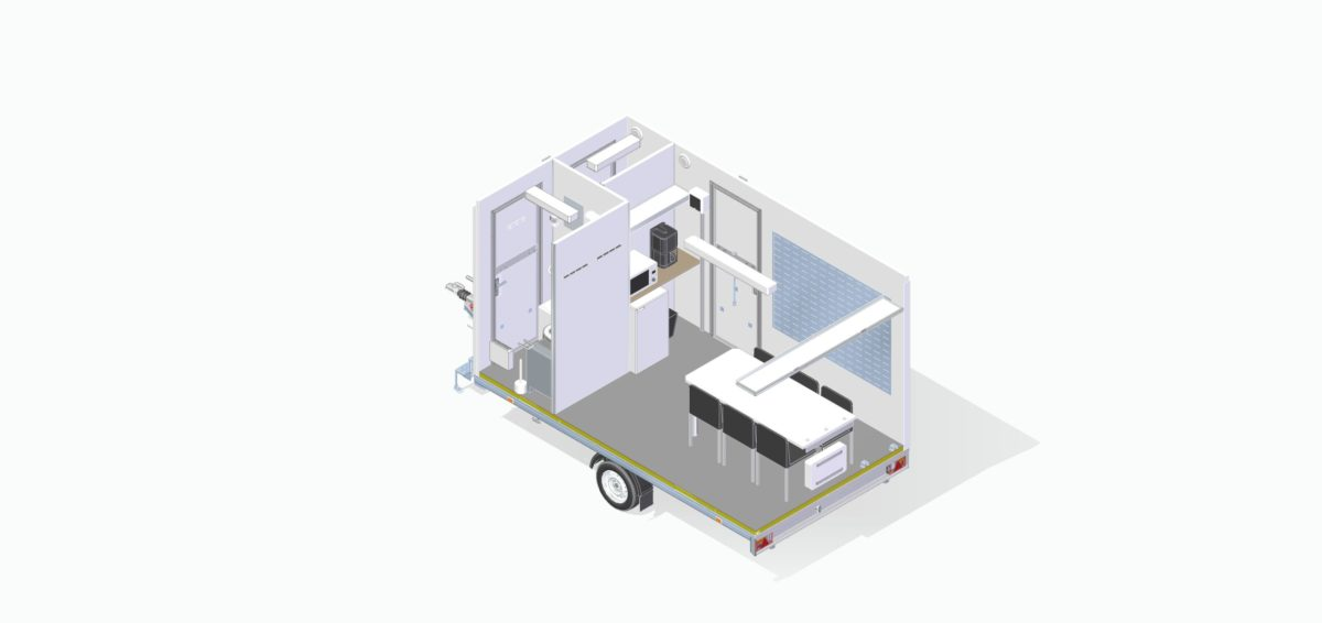 Mannskapsvogn <br>RESPO 420 3-dørs 6 personer 11