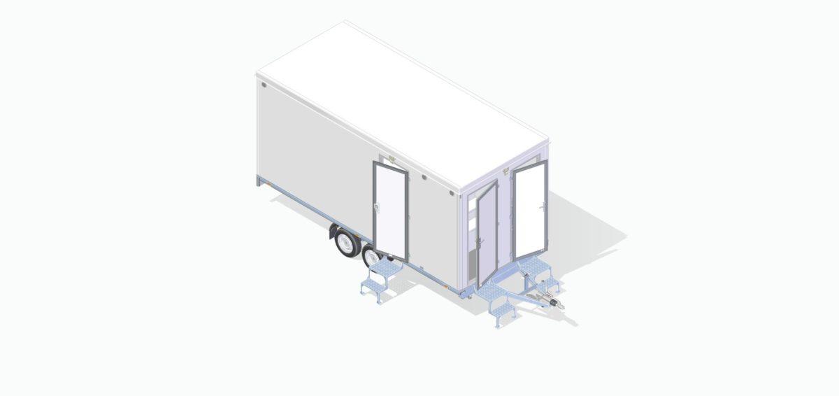 Mannskapsvogn <br>RESPO 520  3-dørs 10 personer 12