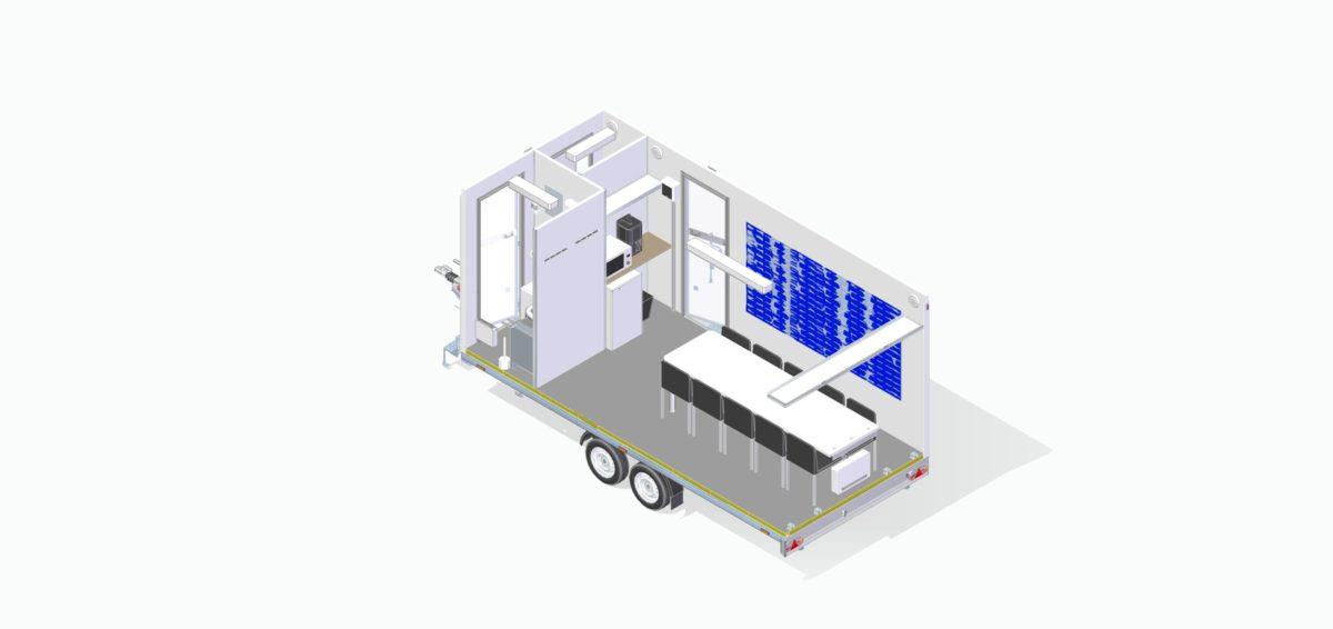 Mannskapsvogn <br>RESPO 520 3-dørs 10 personer 15
