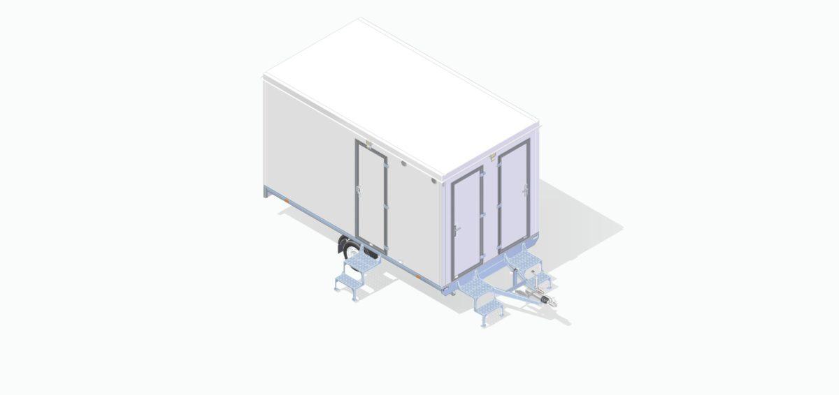 Mannskapsvogn <br>RESPO 420 3-dørs 6 personer 13