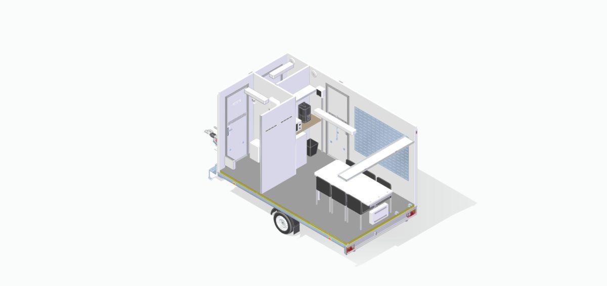 Mannskapsvogn <br>RESPO 420 3-dørs 6 personer 16