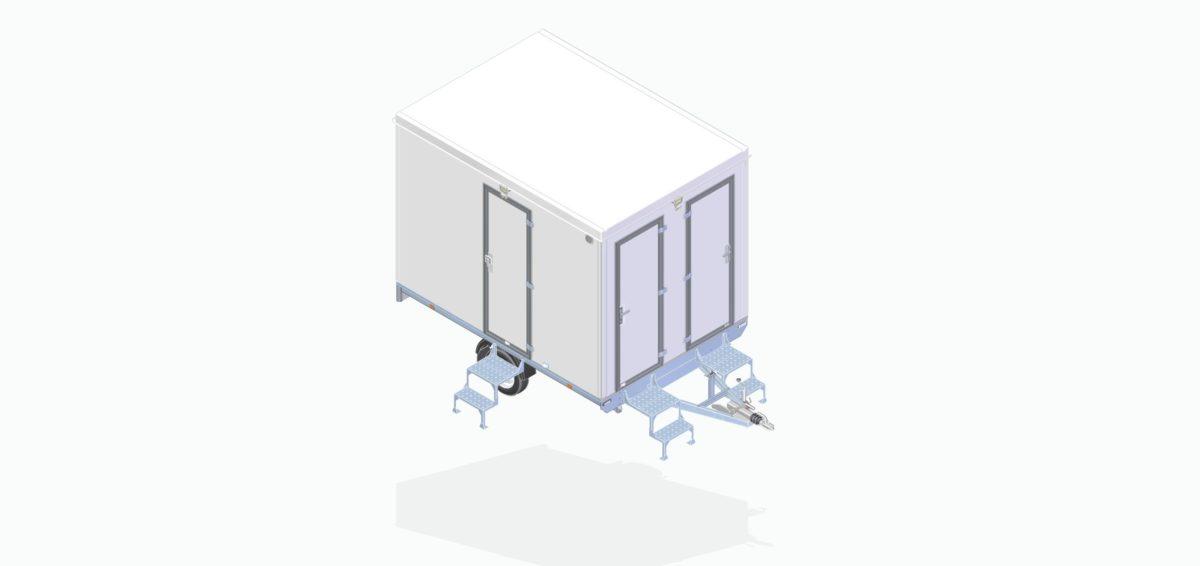 Mannskapsvogn <br>RESPO 320 3-dørs 4 personer 9