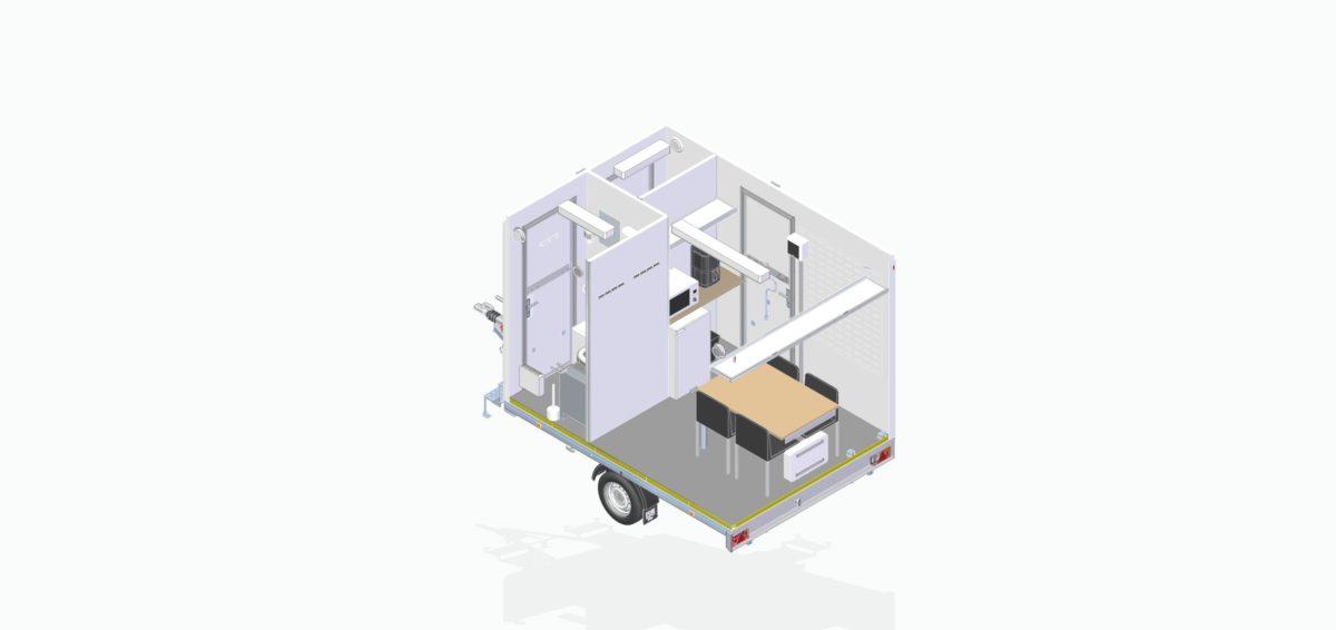 Mannskapsvogn <br>RESPO 320 3-dørs 4 personer 12