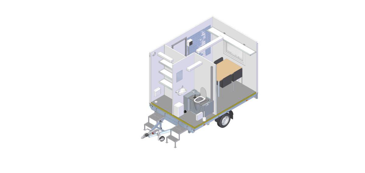 Mannskapsvogn <br>RESPO 320 3-dørs 4 personer 13