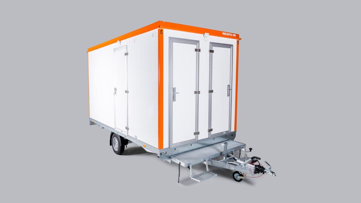 Mannskapsvogn <br>RESPO 420 3-dørs Gass/hybrid 1