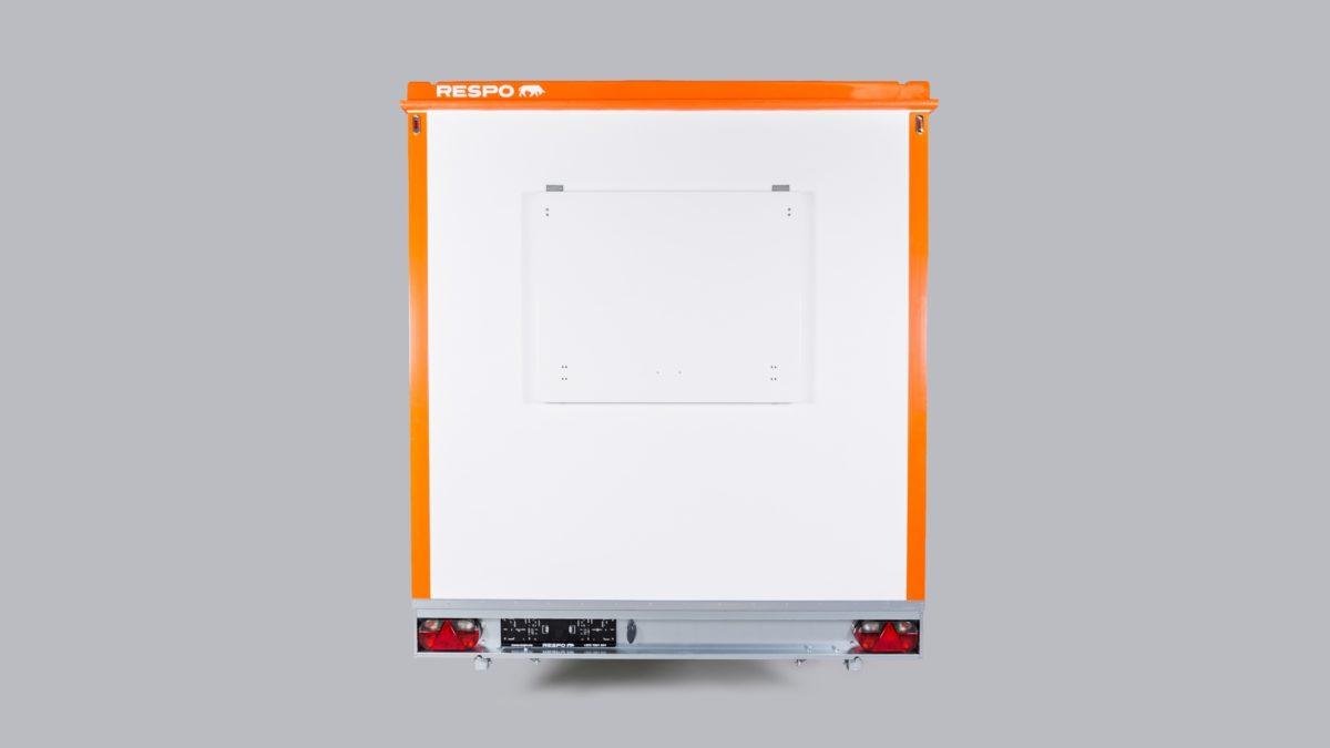 Mannskapsvogn <br>RESPO 420 3-dørs Gass/hybrid 3