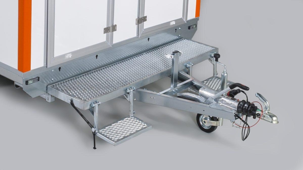 Mannskapsvogn <br>RESPO 420 3-dørs Gass/hybrid 7