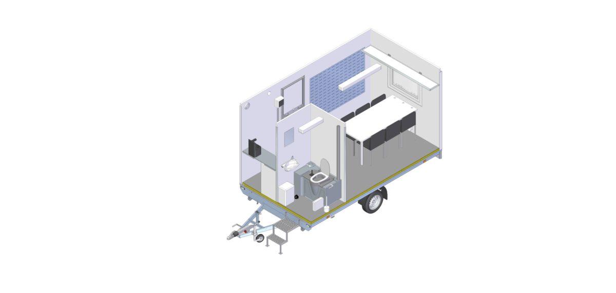 Mannskapsvogn <br>RESPO 420 2-dørs 6 personer 10