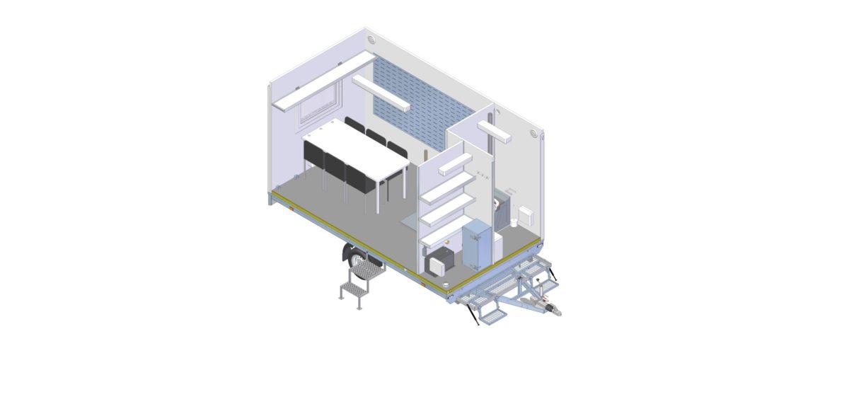 Mannskapsvogn <br>RESPO 420 3-dørs Gass/hybrid 18