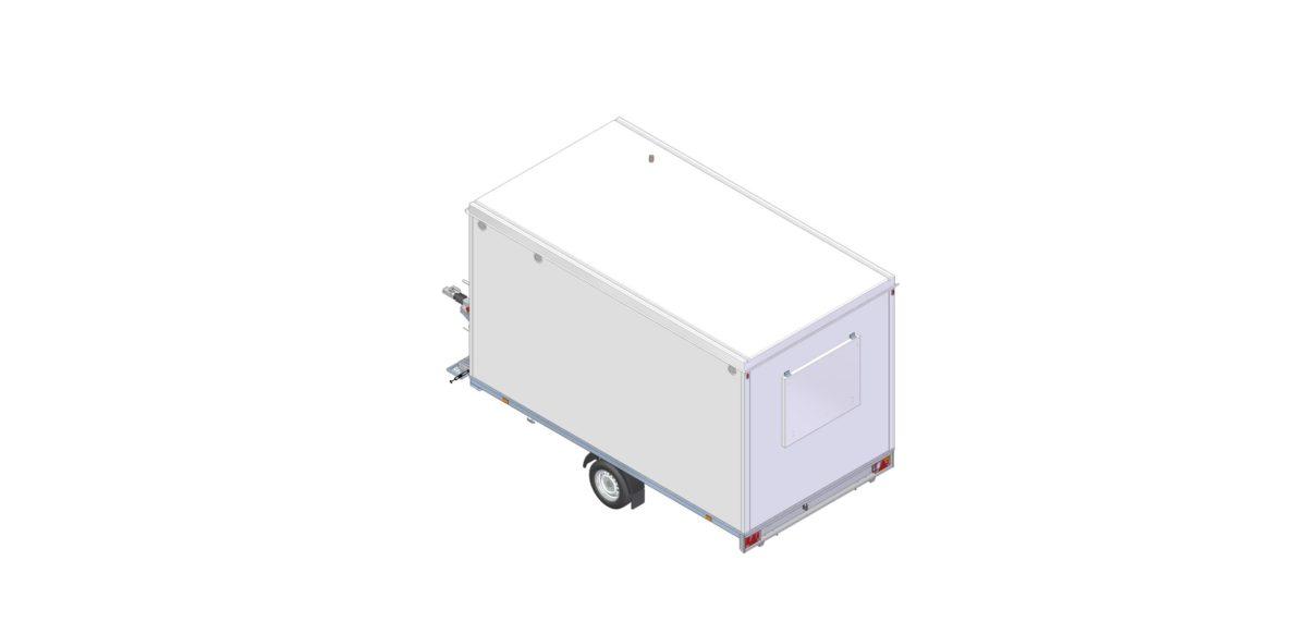Mannskapsvogn <br>RESPO 420 3-dørs Gass/hybrid 19