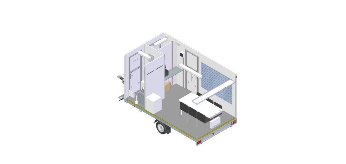 Mannskapsvogn <br>RESPO 420 3-dørs Gass/hybrid 20
