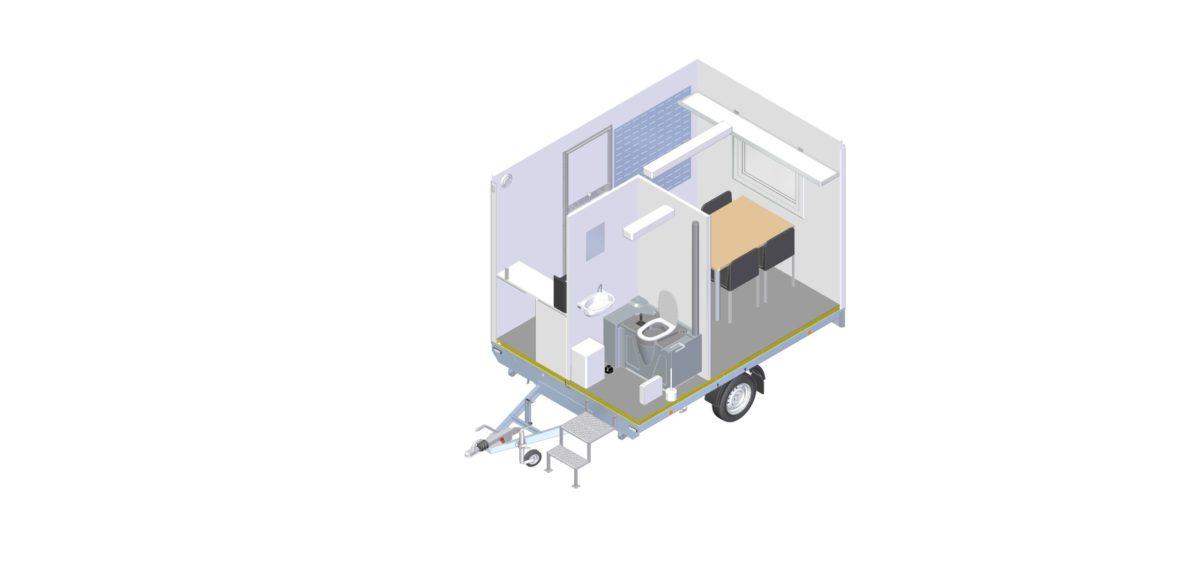 Mannskapsvogn <br>RESPO 320 2-dørs 4 personer 7