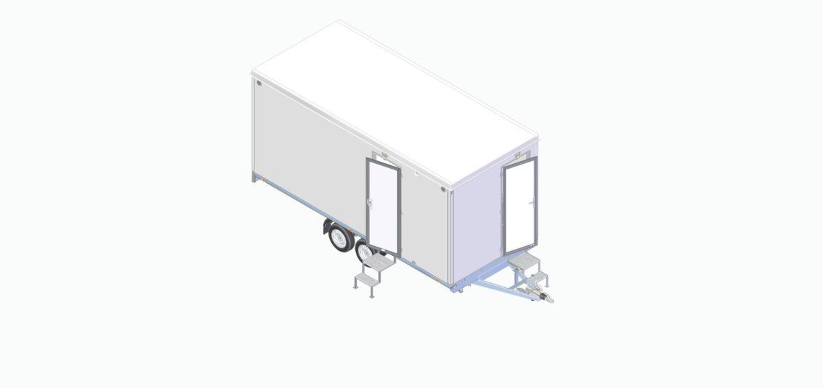 Mannskapsvogne <br>RESPO 520 2-dørs 10 personer 10