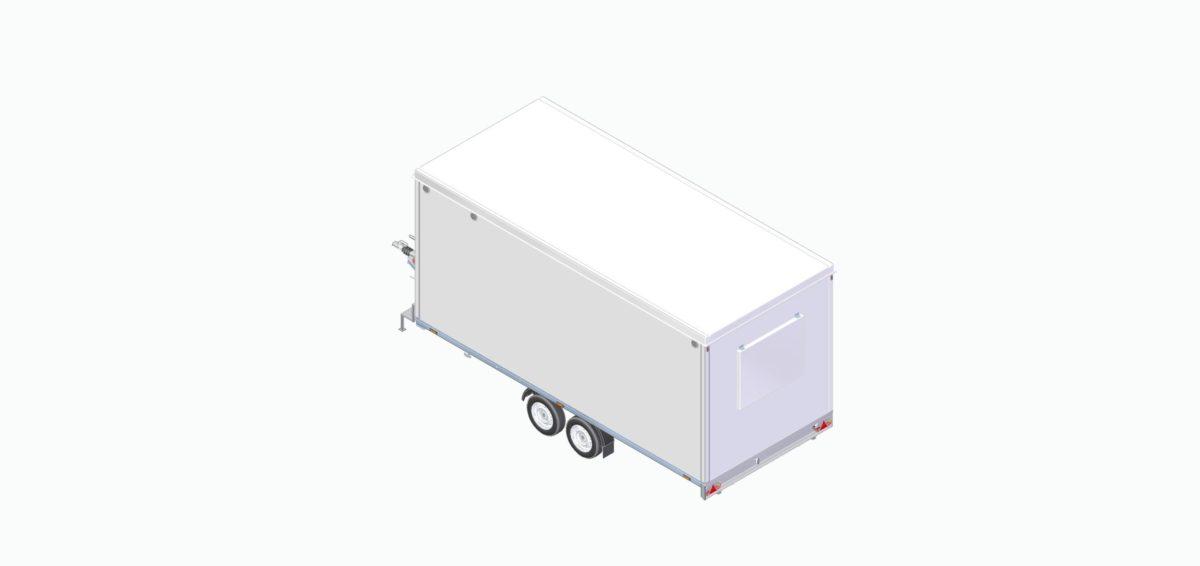 Mannskapsvogne <br>RESPO 520 2-dørs 10 personer 12
