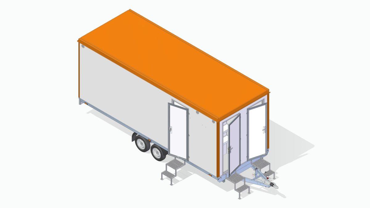 Mannskapsvogn <br>RESPO 620  3-dørs 14 personer 7
