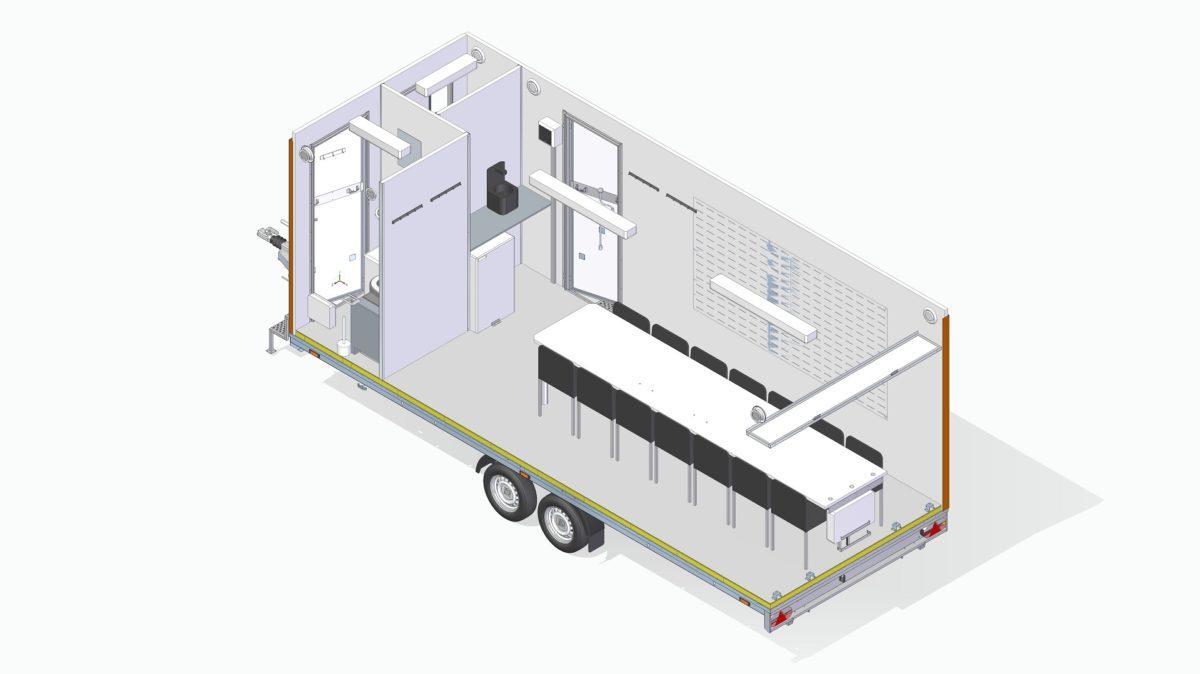 Mannskapsvogn <br>RESPO 620  3-dørs 14 personer 10