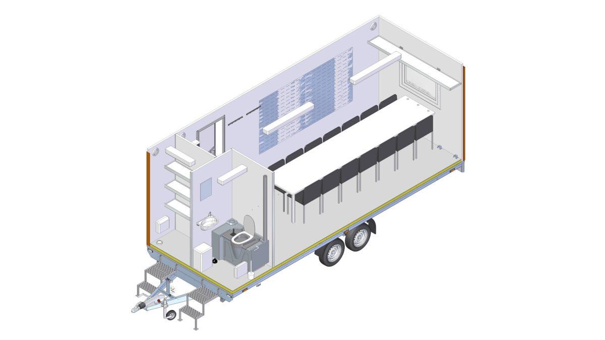 Mannskapsvogn <br>RESPO 620  3-dørs 14 personer 11
