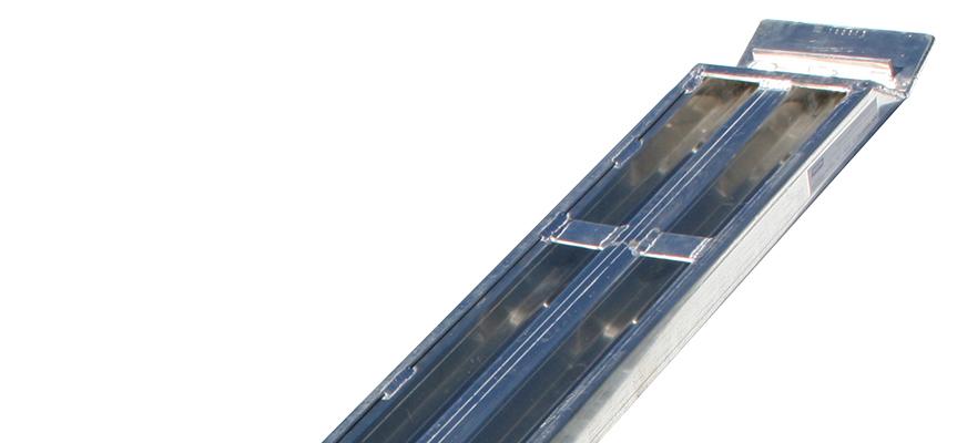 Alu-kjørebruer 4000 kg 2