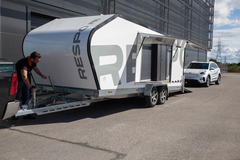 Biltransporthenger <br>RESPO CT 3500 XL 14