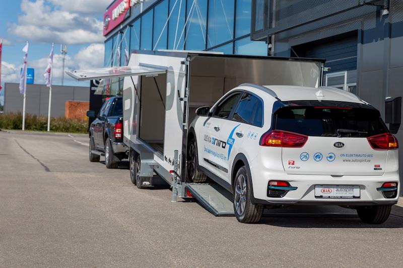 Biltransporthenger <br>RESPO CT 3500 XL 28