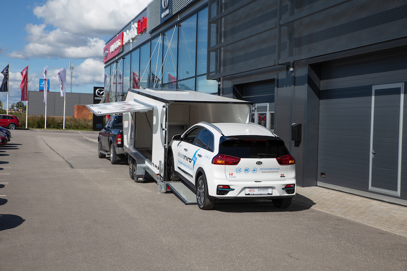Biltransporthenger <br>RESPO CT 3500 XL 42