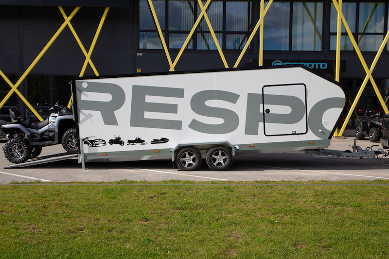Biltransporthenger <br>RESPO CT 3500 XL 4