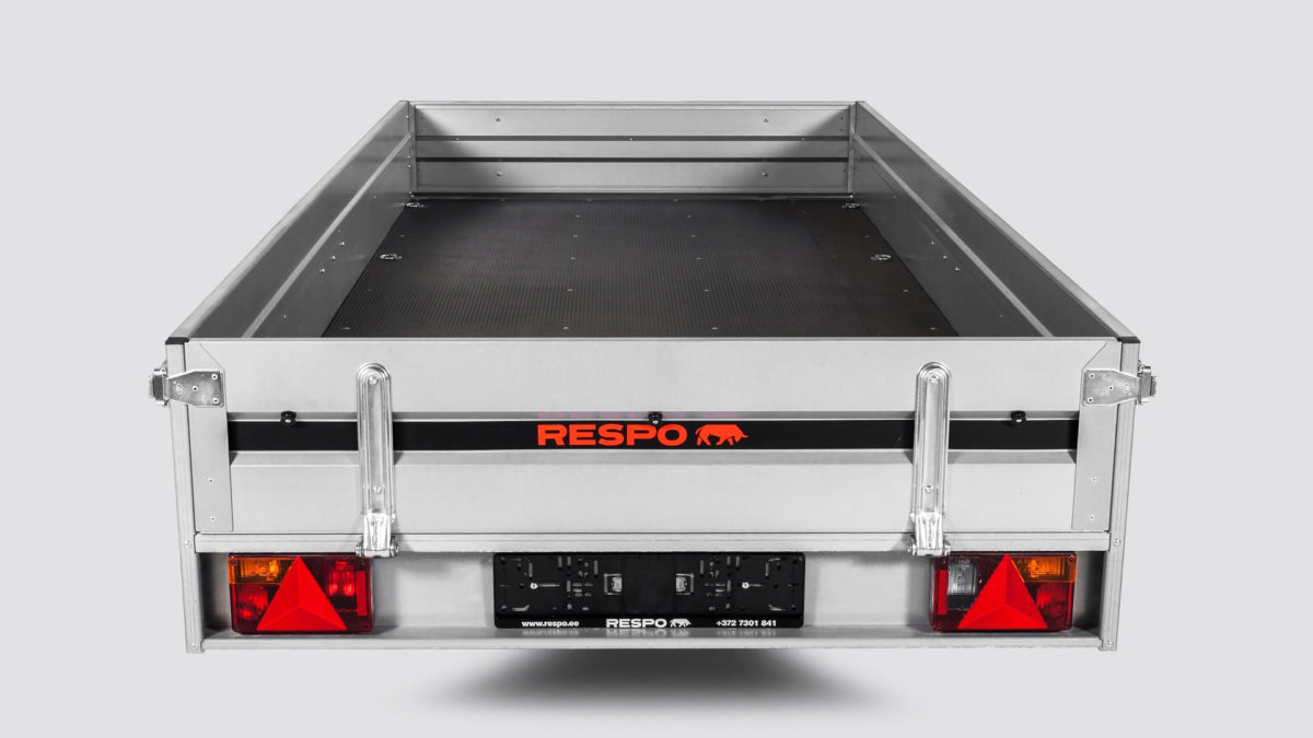 Snøscooterhenger <br>RESPO SC 3510 2