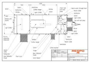 thumbnail of RESPO 620 4-dørs 6 personer + ekstrakontor-topp