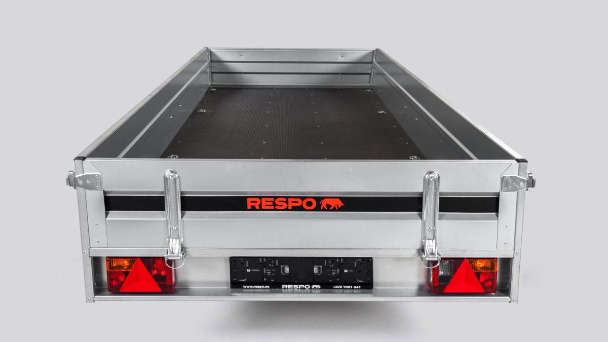 Snøscooterhenger <br>RESPO SC 3513 2