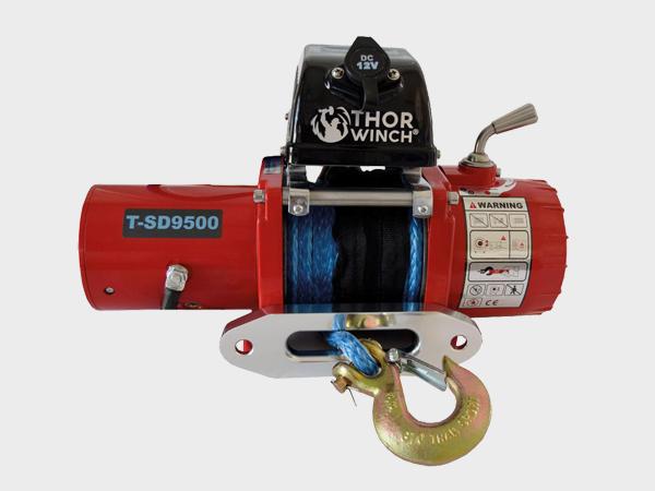 Vinsj <br>Thor Winch T-SD9500 12V 1