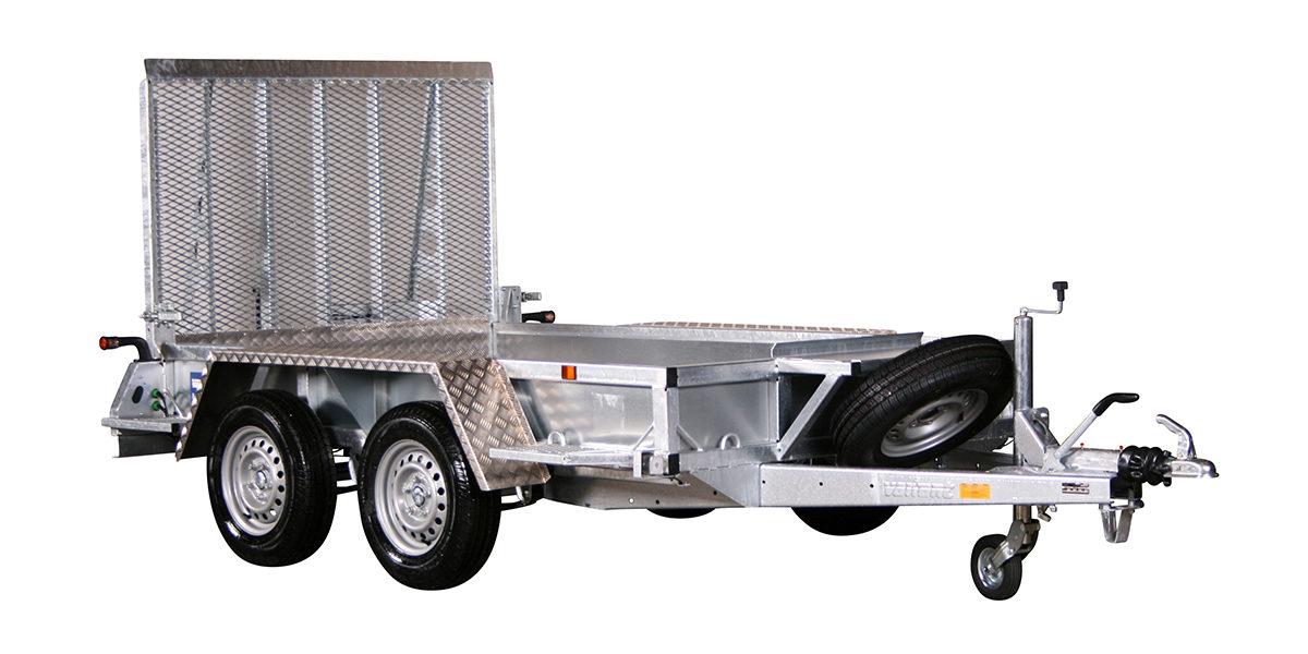 Maskinhenger <br>VARIANT 2015 M2 2000 kg 3