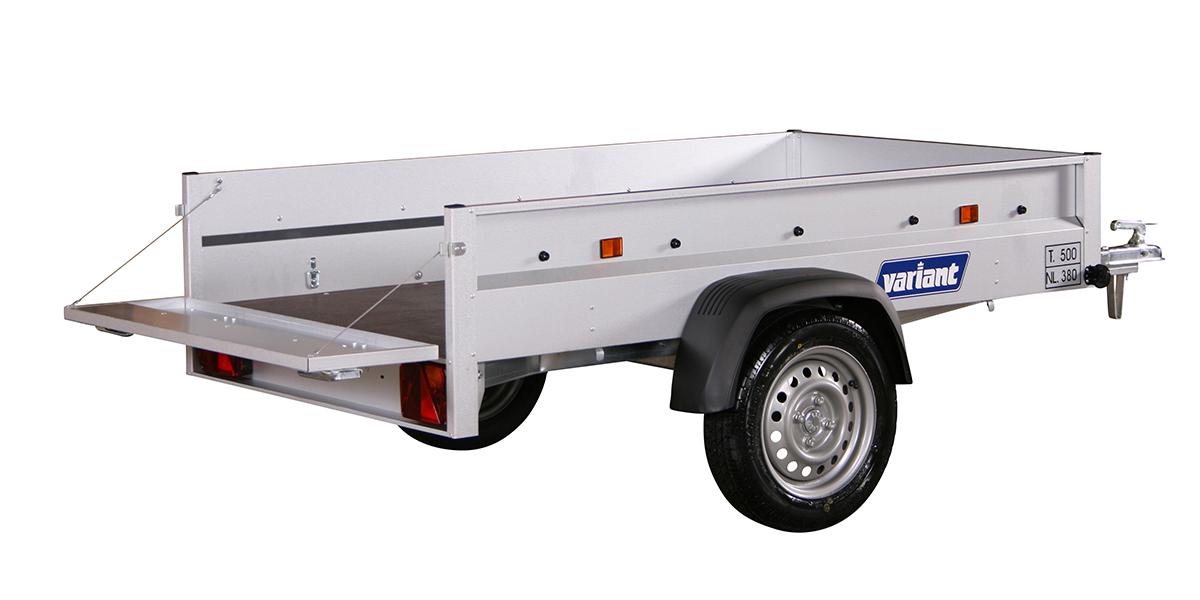 Fritidshenger <br>VARIANT 205 S1 750 kg 5