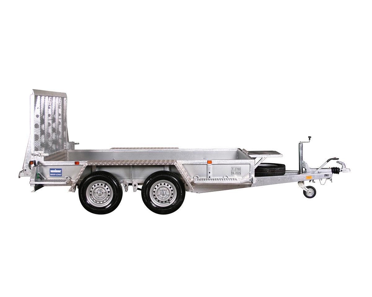 Maskinhenger <br>VARIANT 2718 M3 2700 kg 1