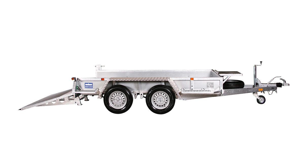 Maskinhenger <br>VARIANT 2718 M3 2700 kg 2