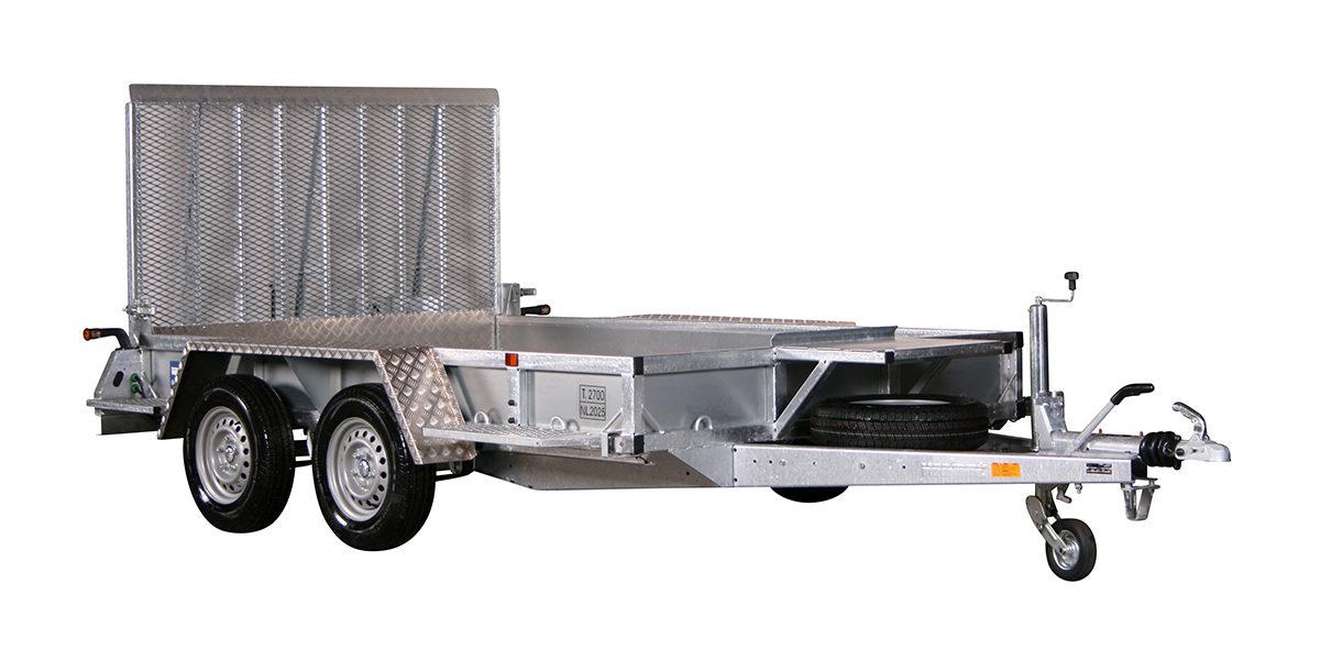 Maskinhenger <br>VARIANT 2718 M3 2700 kg 3