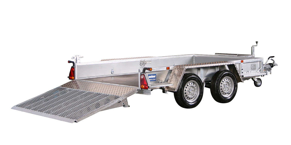 Maskinhenger <br>VARIANT 2718 M3 2700 kg 4