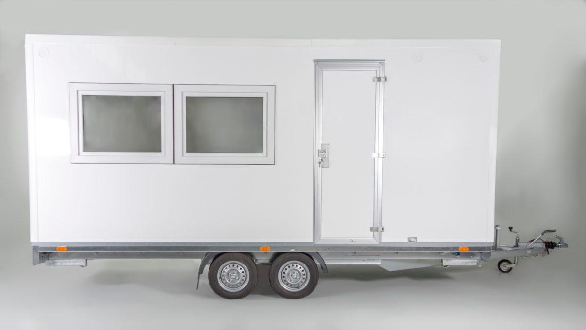 Mannskapsvogn <br>RESPO 520 3-dørs 10 personer 8